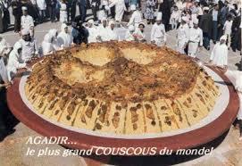cuisine plus maroc le plus grand couscous du monde à agadir bienvenue au maroc