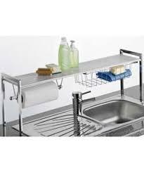 sink racks kitchen accessories premium quality stainless steel over sink kitchen tidy shelf