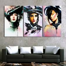 Prints For Home Decor Online Get Cheap 3 Piece Vertical Canvas Paintings Aliexpress Com