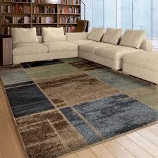 living room ls walmart marvelous brown and blue area rugs on orian shag juke rug walmart