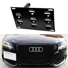 audi s4 front bumper audi a4 a5 s4 s5 a7 s7 tow hook license plate mount kit
