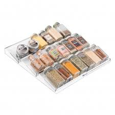 In Drawer Spice Racks Countertop And Drawer Spice Racks And Organizers Storables