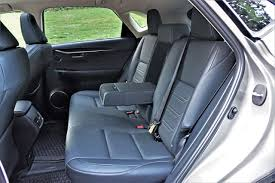 lexus nx interior back seat 2017 lexus nx 300h executive road test carcostcanada