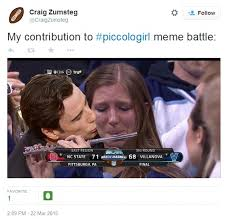 Crying Girl Meme - crying villanova piccolo player explains what happened on jimmy