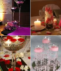 Candle Centerpiece Wedding 46 Best Floating Flowers And Candles Centerpieces Images On