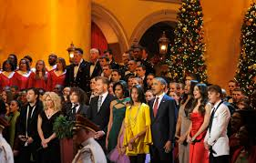 obama and first family attend christmas in washington 1025 ksfm