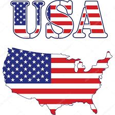 Usa Map Image Usa Map And Text Flag U2014 Stock Vector Alexmillos 3013208