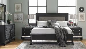 diva midnight panel bedroom set samuel lawrence furniture