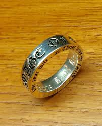 old wedding rings images Buy a hand made customized old english font wedding bands ring jpg