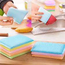 eponge cuisine 4 8 12x nettoyage vaisselle éponge magique mousse cuisine outil