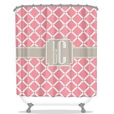 monogram shower curtains home decor be monogrammed