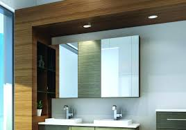 bathroom mirror cabinet recessed cabinets ikea with led lights