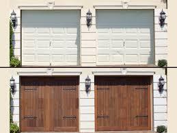 Garage Door Covers Style Your Garage Best 25 Diy Garage Door Ideas On Pinterest Garage Door Makeover