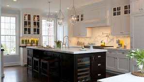 Two Color Kitchen Cabinets Kitchens Two Tone Walls Design Ideas