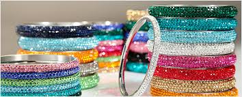 crystal bangle bracelet images Crystal bangle bracelets okajewelrybracelets jpg