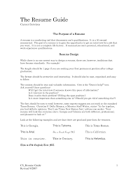 Targeted Resume Examples by Different Types Of Resumes Different Types Of Resume Three Major