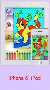 coloring pages cute kittens girls u0026 boys fun