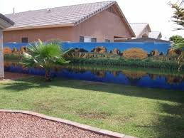 wall sensations murals want to beautify your phoenix backyard