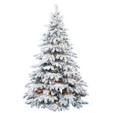 delightful decoration 8 foot pre lit christmas tree snowy dunhill