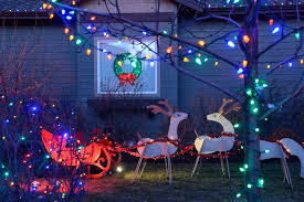 Outdoor Reindeer Decorations 25 Outdoor Christmas Decoration Ideas In Pictures