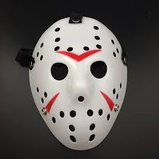 scary masks online shop 2017 white porous men mask jason voorhees