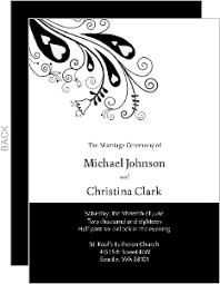 peacock wedding programs wedding programs