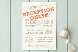 post wedding reception wording exles cocktail wedding reception invitation wording post elopement