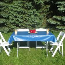 Oval Vinyl Tablecloth Vinyl Tablecloths For Picnic Tables Outdoor Patio Tables Ideas