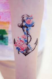 top 10 latest tattoo designs anchor tattoos tattoo and flower