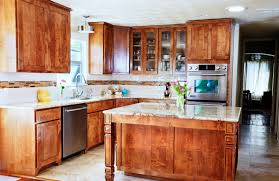 U Shaped Kitchen Design Ideas Crown Molding Brown Granite Countertops U Shaped Kitchen Light
