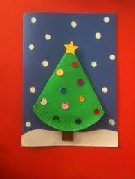 Preschool Holiday Crafts - tête de bonhomme de neige à suspendre dans le sapin réalisée avec