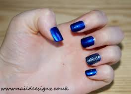 christine u0027s nail designs easy nail designs for short nails blue