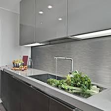 küche fliesenspiegel alternative zu fliesen küchenspiegel aus glas edelstahl hpl