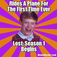 The First Meme - rides a plane for the first time ever create your own meme