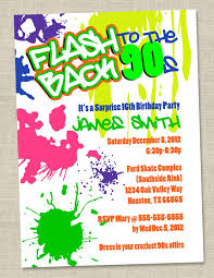 hashtag neon party birthday party invitation birthday 89 best 30th birthday bash images on birthday