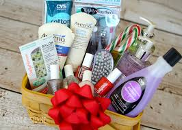 basket gift ideas gift idea diy manicure gift basket