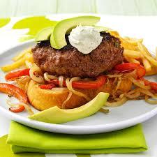 unstuffed jalapeno popper burgers recipe taste of home