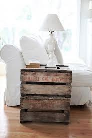 Wooden Crate Nightstand 10 Ways To Re Use Wooden Crates Megan Brooke Handmade