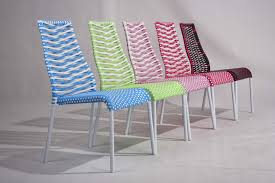 chaise tress e chaise en résine tressée primavera en vente lors de notre