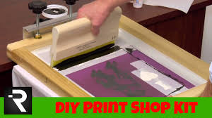 diy screen print india screen printing starter kit the holiday gift hobby edition