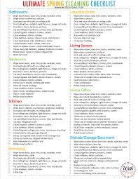 Spring Cleaning Tips The Ultimate Spring Cleaning Checklist Cleaning Tips With Our