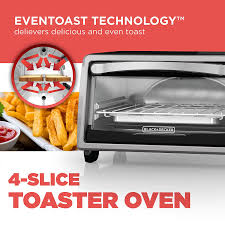 Under Cabinet 4 Slice Toaster Amazon Com Black Decker To1313sbd 4 Slice Toaster Oven Includes