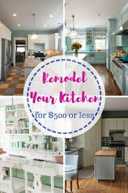 Small Kitchen Remodel Ideas On A Budget 25 Best Cheap Kitchen Remodel Ideas On Pinterest Cheap Kitchen