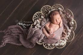 baby photo props newborn photography prop burlap twine circles bowl jd vintage