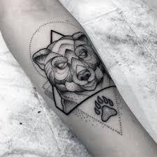 100 bear tattoos designs new grey stitched teddy bear