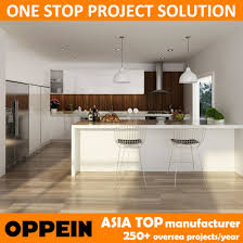 Kitchen Cabinets Australia China Oppein Australia Project White Lacquer Built In Wooden