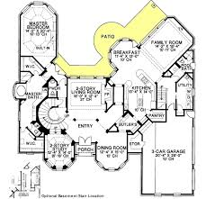 european style house plans 4500 square foot home 2 story 4