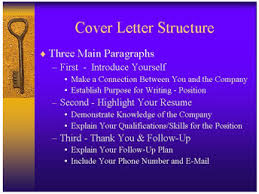 what a job cover letter should include what should a cover letter