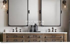 bathroom tilt mirrors pretentious pivot bathroom mirrors mirror rectangular com uk arm