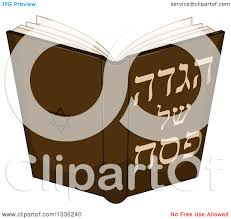 passover book haggadah clipart of a haggadah of passover book royalty free